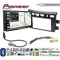 Volunteer Audio Pioneer AVIC-W8400NEX Double Din Radio Install Kit with Navigation, Apple CarPlay and Android Auto Fits 2007-2009 Kia Amanti