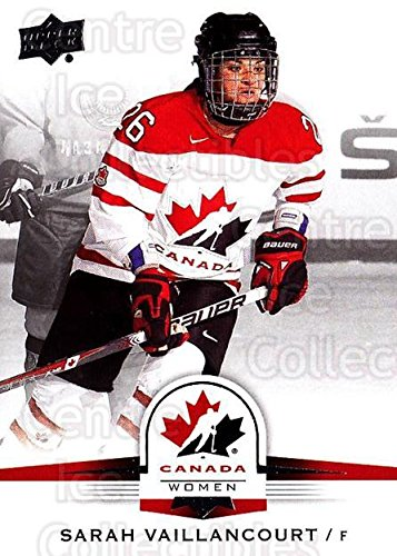 (CI) Sarah Vaillancourt Hockey Card 2014-15 Upper Deck for sale  Delivered anywhere in USA