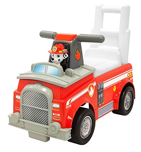 Paw Patrol Marshall Fire Engine Ride-On Vehicle