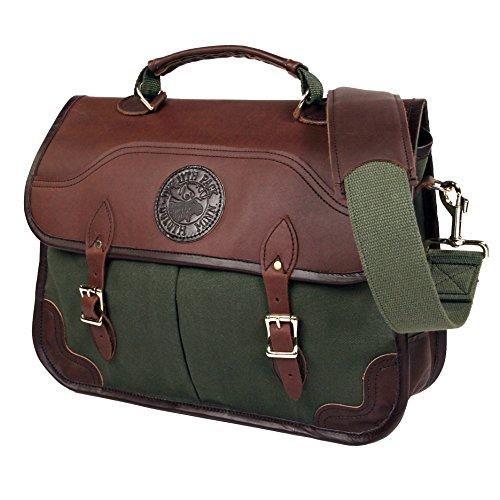 Duluth Pack Executive Portfolio Briefcase, Olive Drab, 11 x