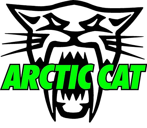 Nostalgia Decals Arctic Cat Version 2 Large 12 inch Decal in the United States ()
