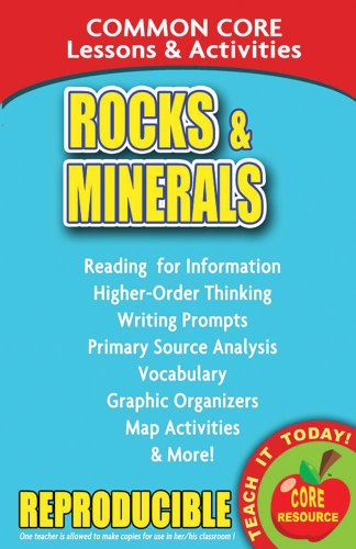 Rocks and Minerals - Common Core Lessons and Activities