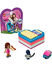 LEGO Friends Olivia's Summer Heart Box 41387 Building Kit, New 2019 (93 Pieces)