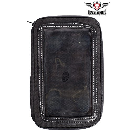 Motorcycle Magnetic Cell Phone & GPS Holder Tank Bag Dealer Leather COMINU013916