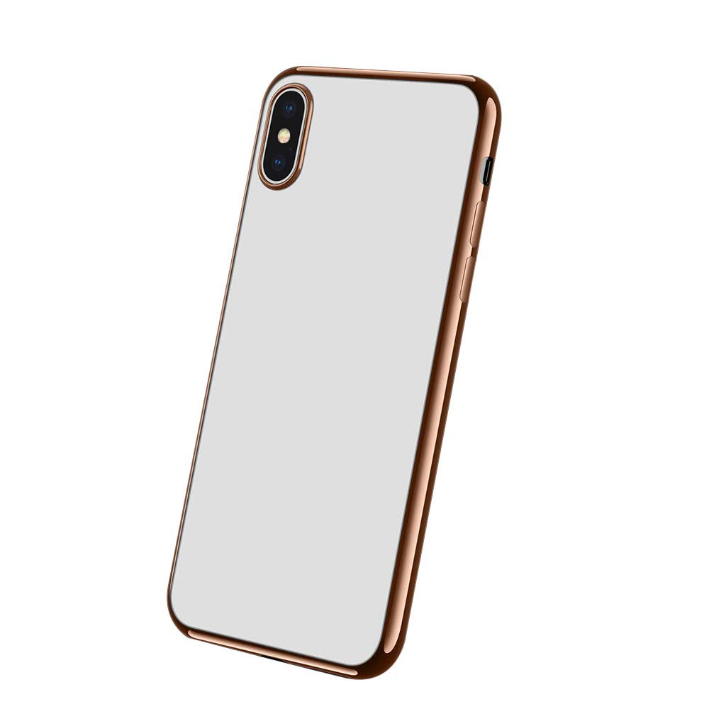 HKFV Coque de Protection Ultra Fine pour iPhone XS Max 6.5inch/ iPhone XS 5, 8 Transparent 8 Transparent