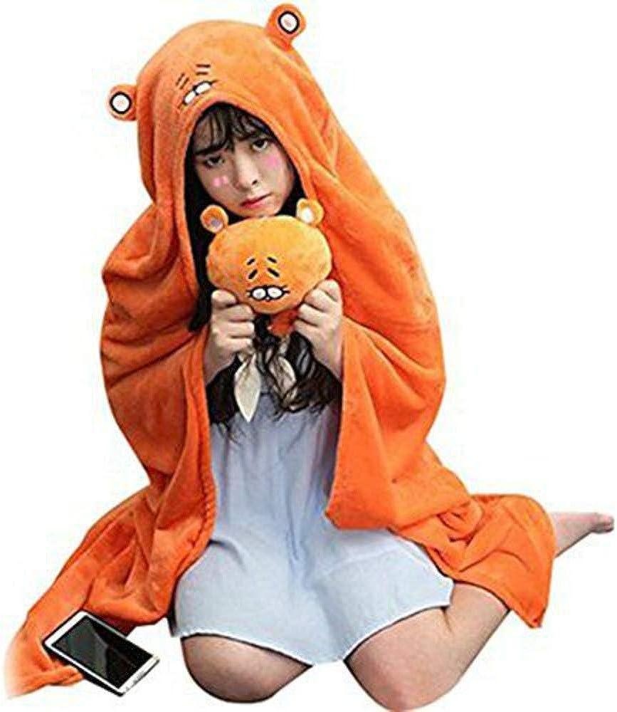 Anime Himouto Umaru Chan Cloak Doma Umaru Cosplay Flannel Blanket Pajamas Hoodie