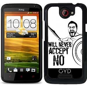 "Funda para HTC one x - Yo Nunca Aceptaré ""no"" by pASob"