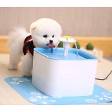 Amazon.es: Fuente de Agua Gatos y Perros, Dispensador de Agua Automático para Mascotas, Bebedero Automático 2.5 L de Gato, Perro, Sano e Higiénico