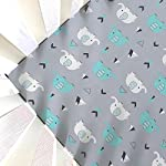 Stretchy-Fitted-Crib-Sheets-Set-Brolex-2-Pack-Portable-Crib-Mattress-Topper-for-Baby-Boys-GirlsUltra-Soft-JerseyFull-StandardElephant-Whale