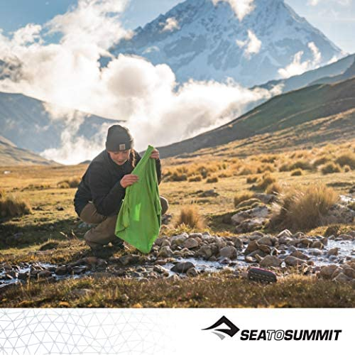 Sea to Summit tek Towel X-l Toalla Monta/ñismo Alpinismo y Trekking Unisex Adulto