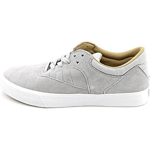 Supra–Zapatos Skateshoes hombre Phoenix–Talla: one size Light Grey-White