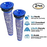 2 Pack Pre Motor Filter for Dyson DC58 DC59 V6 V7 V8 Cordless Vacuum Cleaners, Replacement Parts # 965661-01