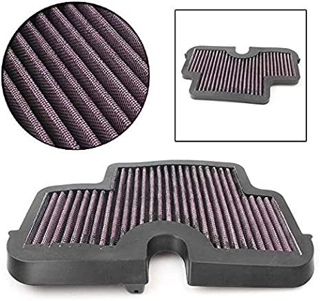 AUTOVIC Motorcycle Air Intake Filter Cleaner For Kawasaki Ninja 650R EX650R Versys 650 ER-6N ER-6F ER 6N//6F ER6F KLE 650 ER6N 06-11High Flow Washable Air Filter Intake Cleaner