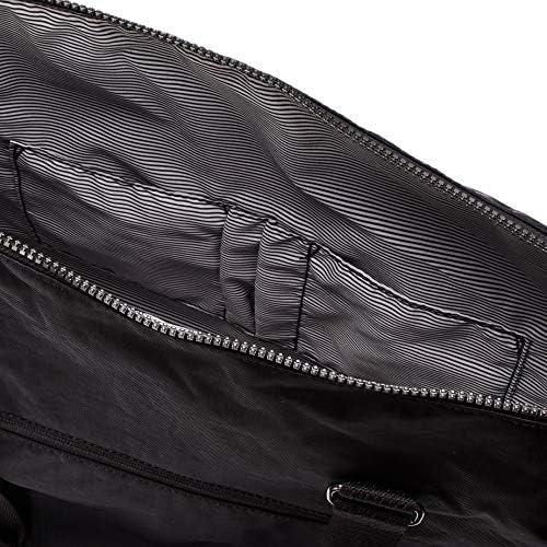Kipling NEW ERASTO, borsa tempo libero e sportwear donna, nero (RICH BLACK), unica