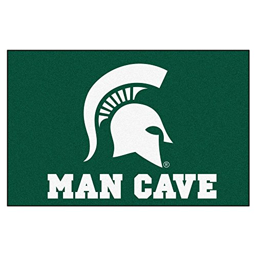 Fanmats 14568 Michigan State University Nylon Universal Man Cave Starter (Michigan State Spartans Rug)