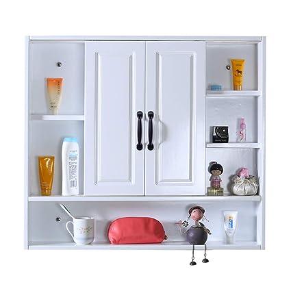 Amazon Com Mirrors Mirror Cabinet Solid Wood Bathroom