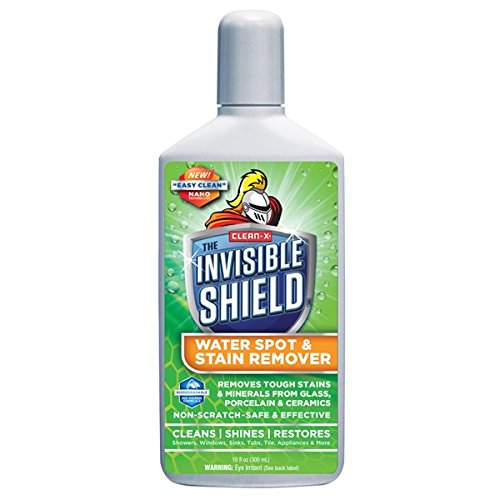 Clean-X Invisible Shield Water Spot and Stain Remover 10-oz Shower and Bathtub - Shield Spot