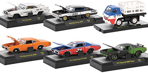 Machines Cars Muscle (Detroit Muscle 6 Cars Set Release 36