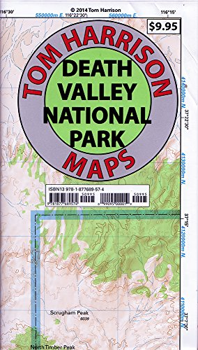 Death Valley National Park Recreation Map  Tom Harrison Maps