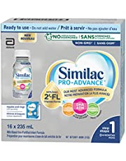 Similac Pro-Advance® Step 1 Baby Formula, 0+ Months, with 2'-FL. Immune Support Innovation: 2'-FL, Ready-to-Feed, 16x235mL