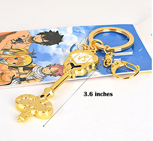 Dreamcosplay Fairy Tail Capricornus Logo Pendant KeyChain Key Chain Cosplay ()