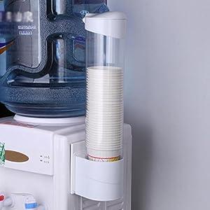 AUNMAS Refrigeratore d'Acqua Tipo di Tirante Bicchiere per Bevande Supporto per Dispenser Supporto Antipolvere a Fondo…
