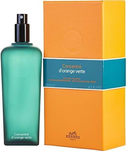 HERMES D'ORANGE VERT CONCENTRE by Hermes EDT SPRAY 6.5 OZ for MEN ---(Package Of 6)