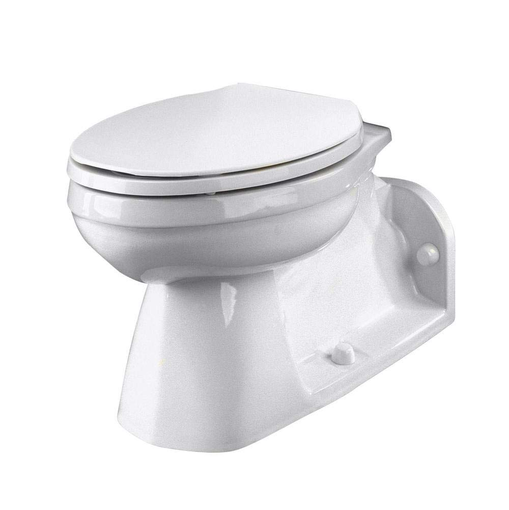 GERBER PLUMBING 21-375 581914 Ultra Flush Floor Mount Back Outlet Bowl