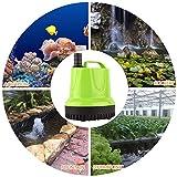 FREESEA 160 GPH 12W Submersible Water Pump for Pond Aquarium Hydroponics Fish Tank Fountain Waterfall