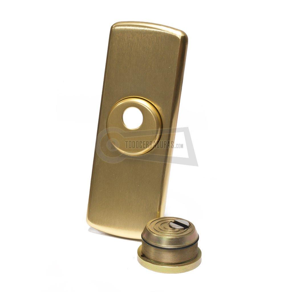 Escudo DISEC protector vertical (Cromo)