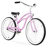 Kyпить Firmstrong Urban Lady Single Speed Beach Cruiser Bicycle, 24-Inch, Pink на Amazon.com