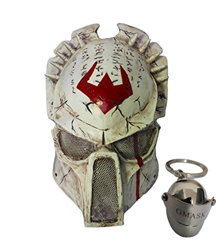 Gmask Alien Vs Predator Wolf Airsoft Full Face Protection Paintball ()