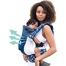 Lillebaby The COMPLETE Airflow SIX-Position, 360° Ergonomic Baby & Child Carrier, Blue w/Anchors