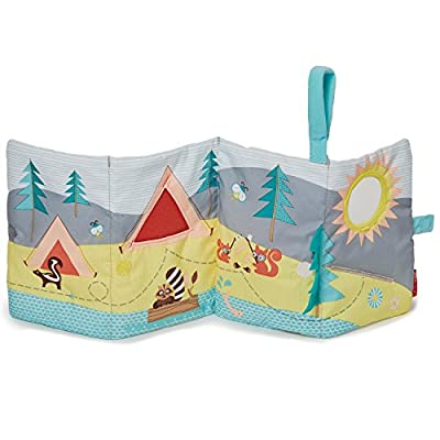 Skip Hop Camping Cubs Soft Adventure Book, Multi : Baby