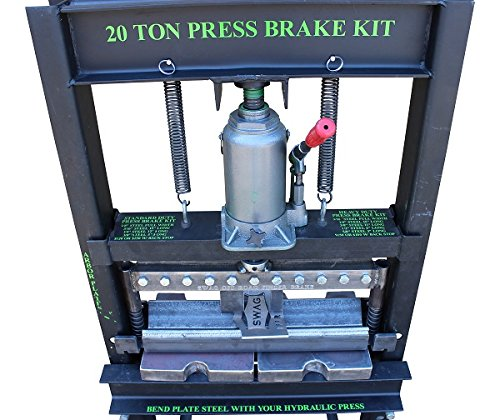 20 TON Finger Brake Heavy Duty DIY Builder Kit by SWAG Offroad