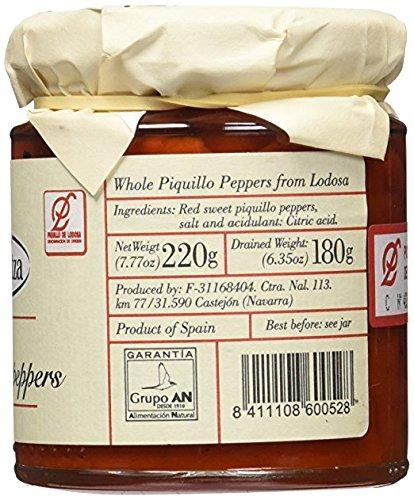 Dantza Sweet Piquillo Pepper, Red, Kosher - 7.7 oz