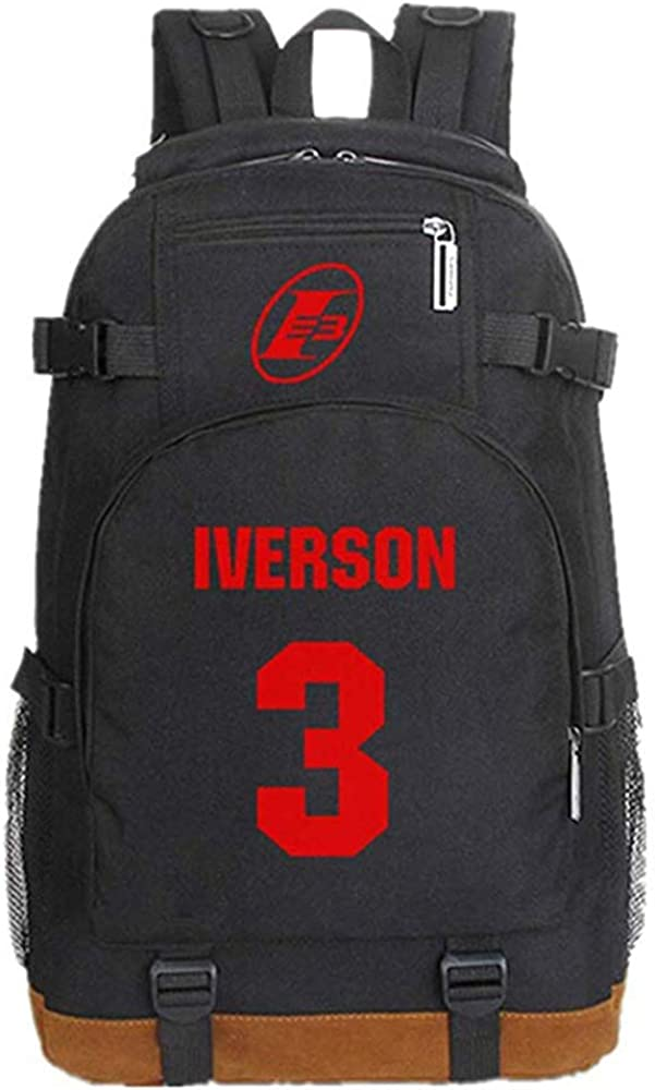 Mochila Allen Iverson para niños, Mochila Star del jugador de ...