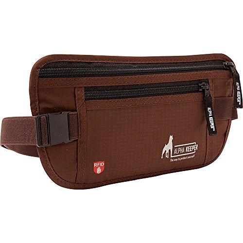 RFID Money Belt For Travel With RFID Blocking Sleeves Set For Daily Use by Alpha Keeper (Image #6)