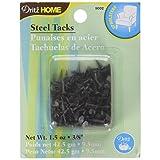 Dritz 9002 No.3 Steel Tacks, Black, 3/8-Inch