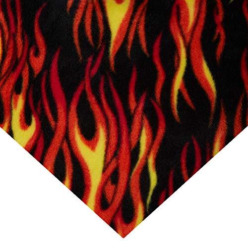 Hot Rod Hobby - Baum Textiles Winter Fleece Hot Rod Multi Yard, Multicolor