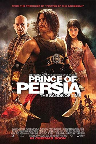 Prince Of Persia The Sands Of Time Authentic Original 27x40 Rolled Movie Poster At Amazon S Entertainment Collectibles Store
