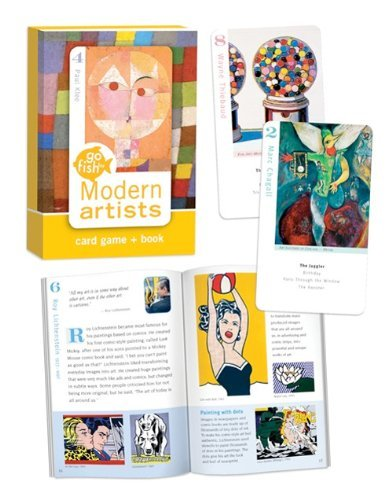 Go Fish for Modern Artists Card Game (Art Game Memory)