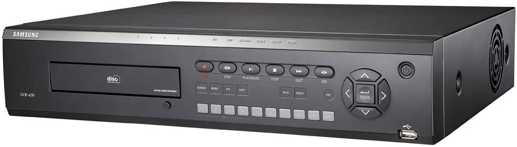 Ss288 Samsung Svr 450 4 Channel Digital Video Recorder Dvr Cctv 320gb Mpeg 4 By Samsung Baumarkt