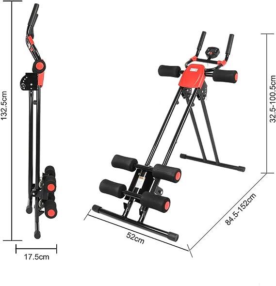 H.JPT Máquina de Entrenamiento Abdominal Shaper Fitness Machine ...