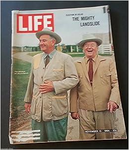 TIME Magazine -- U.S. Edition -- November 13, 1964 Vol. 84 No. 21