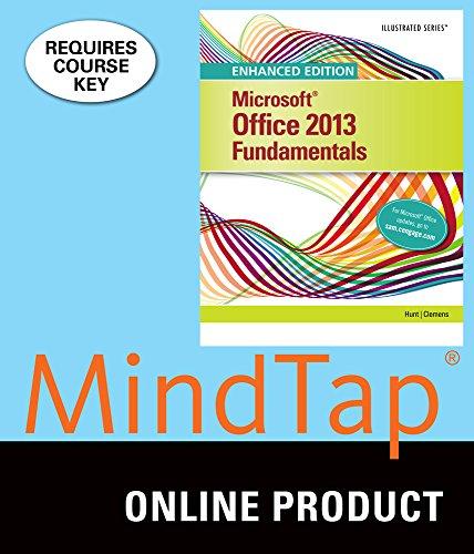 mindtap-computing-for-hunt-clemens-enhanced-microsoft-office-2013-illustrated-fundamentals-1st-editi