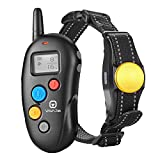 VAVA Pet Dog Training Collar – Rechargeable with 3 Training Modes, Beep, Vibration & Shock, 100% Waterproof Training Collar, up to 330 Yards Remote Range, Dog Training Set