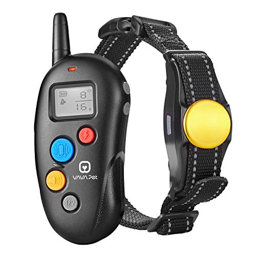 VAVA Pet Dog Training Collar – Rechargeable with 3 Training Modes, Beep, Vibration & Shock, 100% Waterproof Training Collar, up to 330 Yards Remote Range, Dog Training Set by VAVA Pet (Image #9)