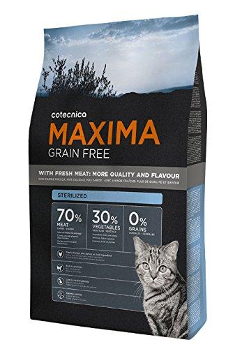 Cotecnica Maxima Grain Free Sterilized - Alimento para Gatos, 8000 gr: Amazon.es: Productos para mascotas