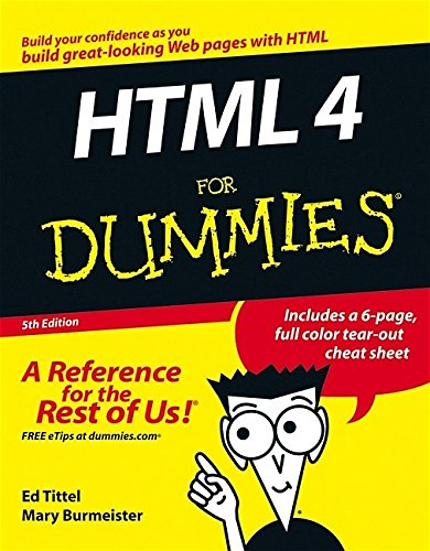 HTML 4 For Dummies, 5th Edition by For Dummies